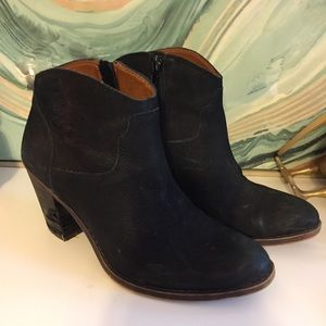 Lucky Brand Eller Ankle Boots in Black